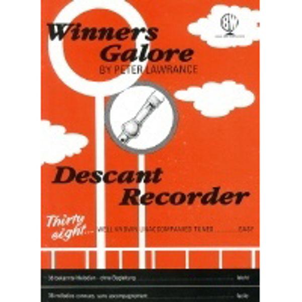 Winners Galore Descant Recorder, Recorder solo