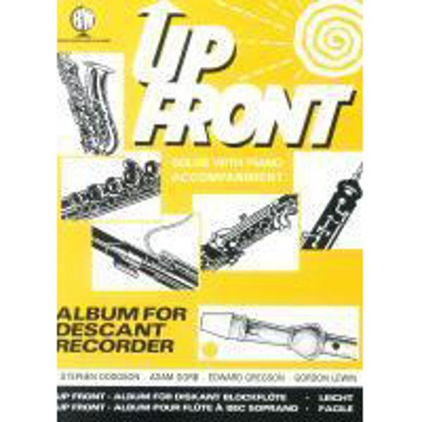Up Front Album Descant Recorder, Recorder/Piano