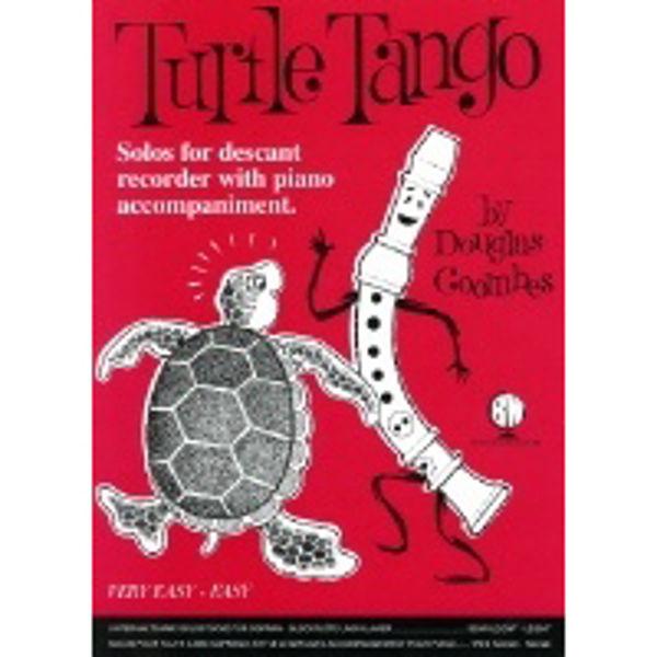 Turtle Tango for Descant Recorder, Recorder/Piano