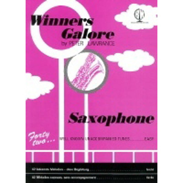 Winners Galore for Saxophone, Saxophone solo