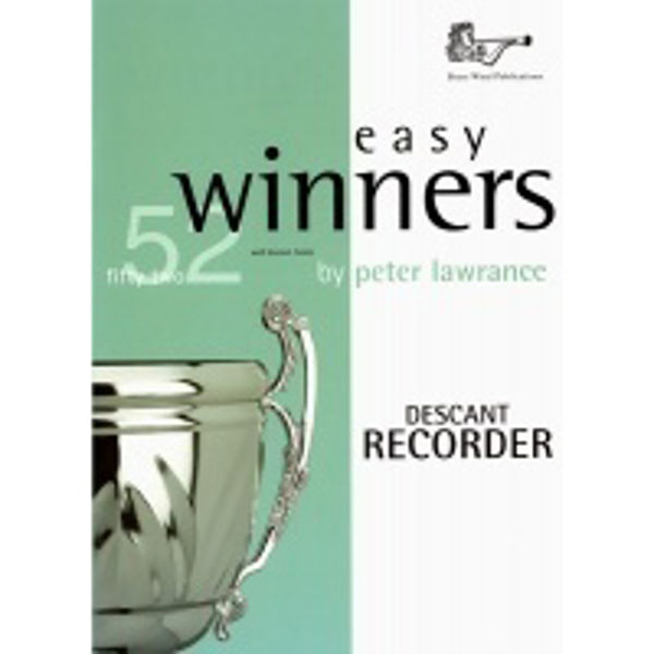 Easy Winners Recorder, Recorder solo