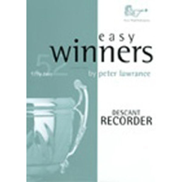 Easy Winners Recorder, Recorder med CD