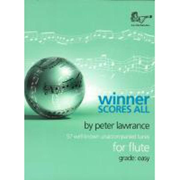 Winner Scores All for Flute, Flute solo