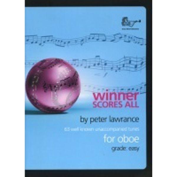 Winner Scores All for Oboe, Oboe solo