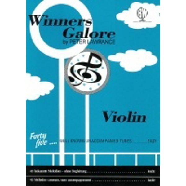 Winners Galore for Violin, Violin solo