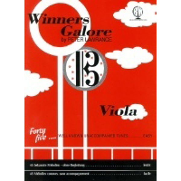Winners Galore Viola, Viola solo