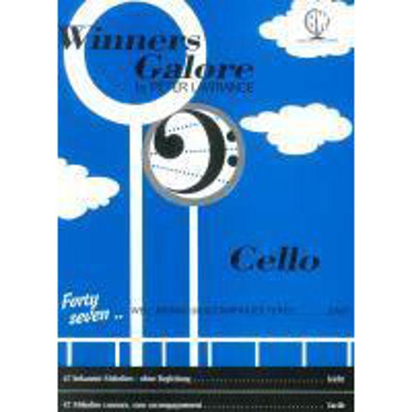 Winners Galore for Cello, Cello solo