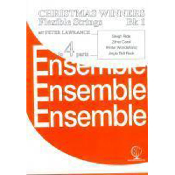 Christmas Winners for Flex Strings Book 1, 4 parts flexible strings