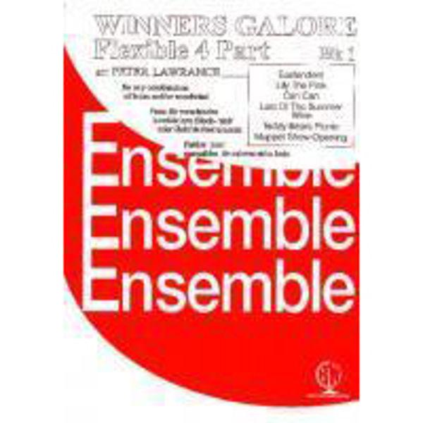 Winners Galore, arr Peter Lawrance Flexible 4 Part Book 1, 4 parts flexible wind