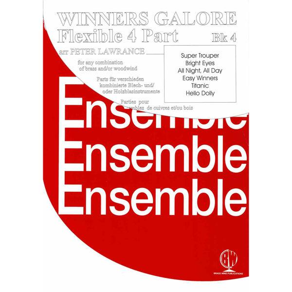 Winners Galore Flexible 4 Part Book 4, 4 parts flexible wind