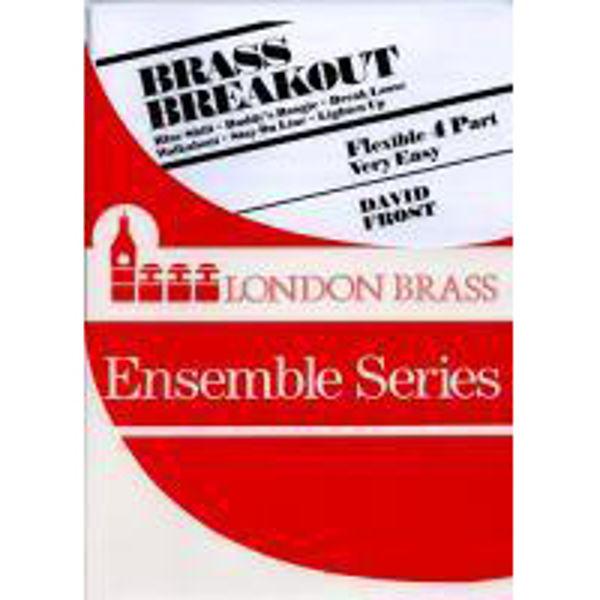 Brass Breakout, 4 parts flexible brass