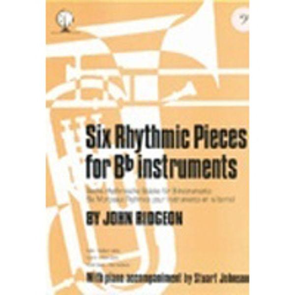 Six Rhythmic Pieces BC, Trombone/Piano