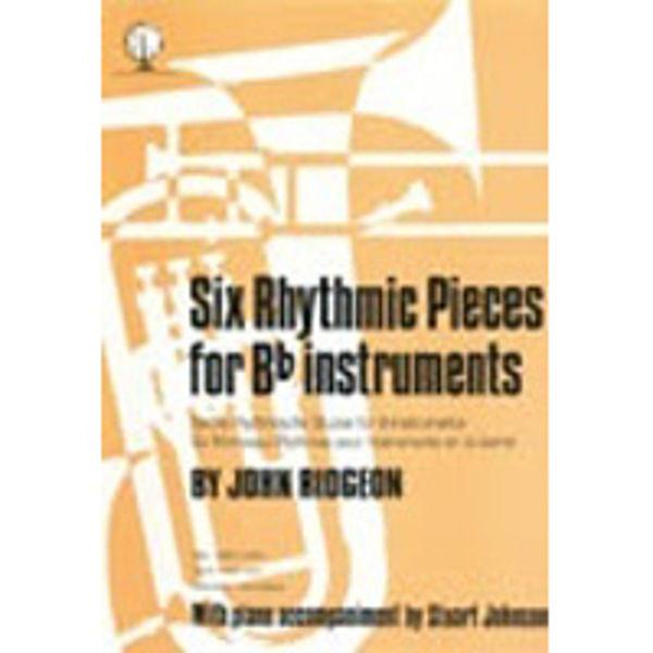 Six Rhythmic Pieces, TC/Piano
