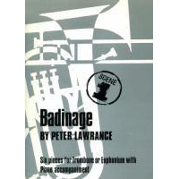Badinage BC, Trombone/Piano