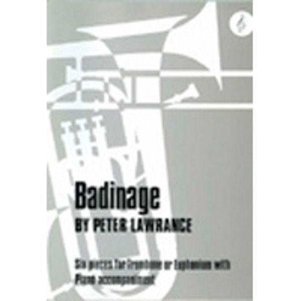 Badinage TC, Trombone/Piano