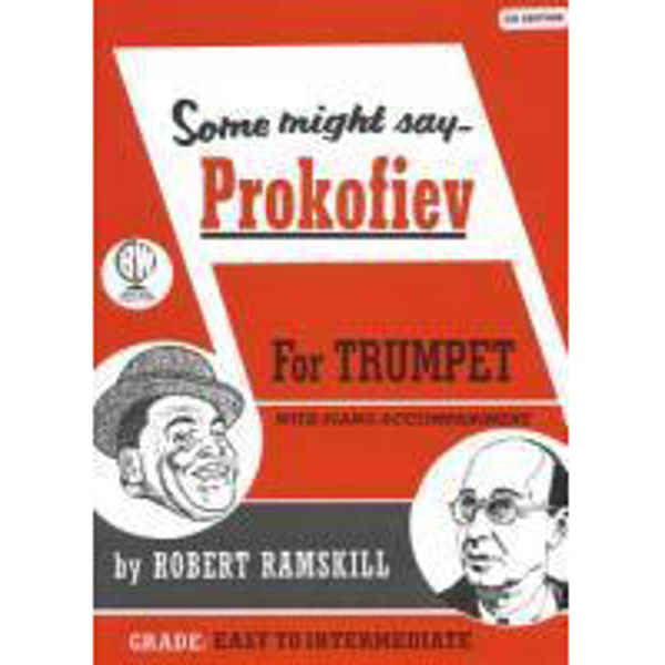 Some Might Say Prokofiev, Trumpet/Piano med CD