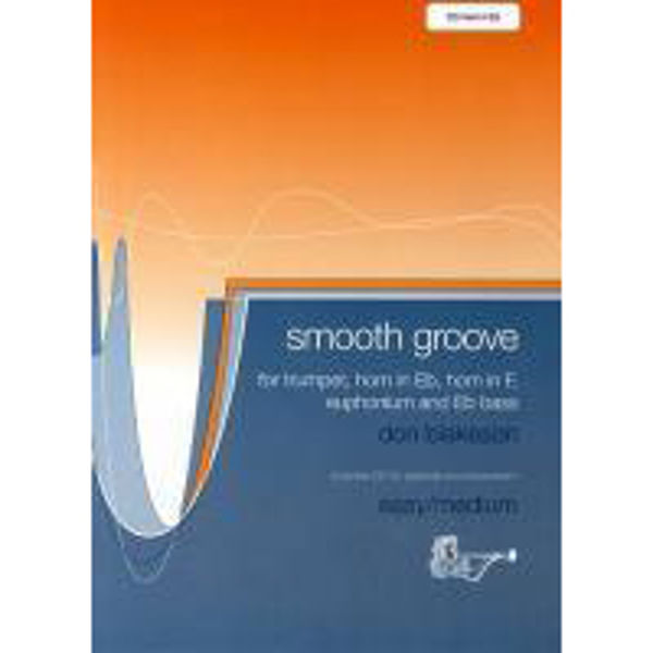 Smooth Groove, Don Blakeson, Eb Horn med CD