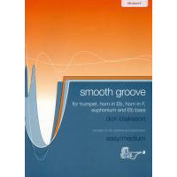 Smooth Groove, F Horn med CD