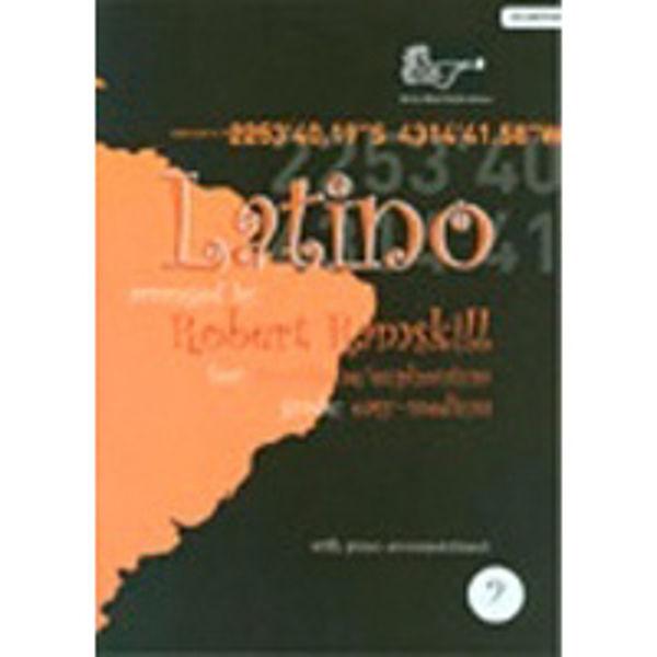 Latino for Trombone/Euphoniumonium BC, Trombone/Piano med CD