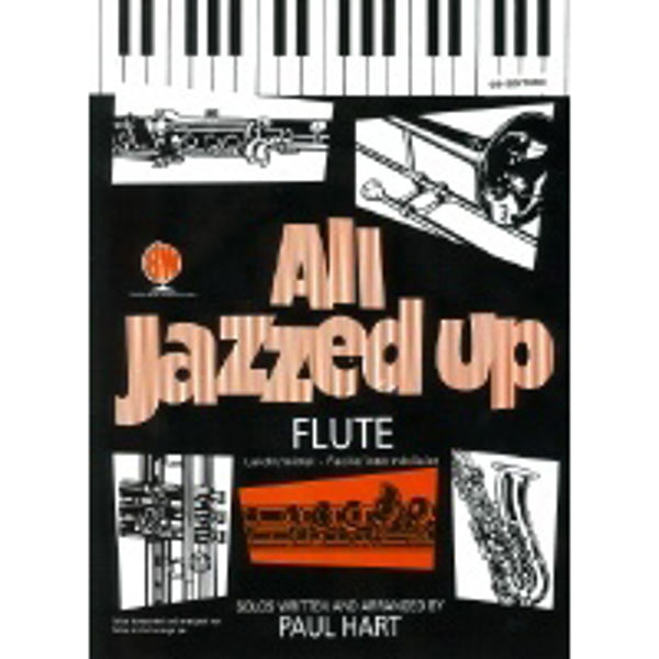 All Jazzed Up Flute, Flute/Piano med CD