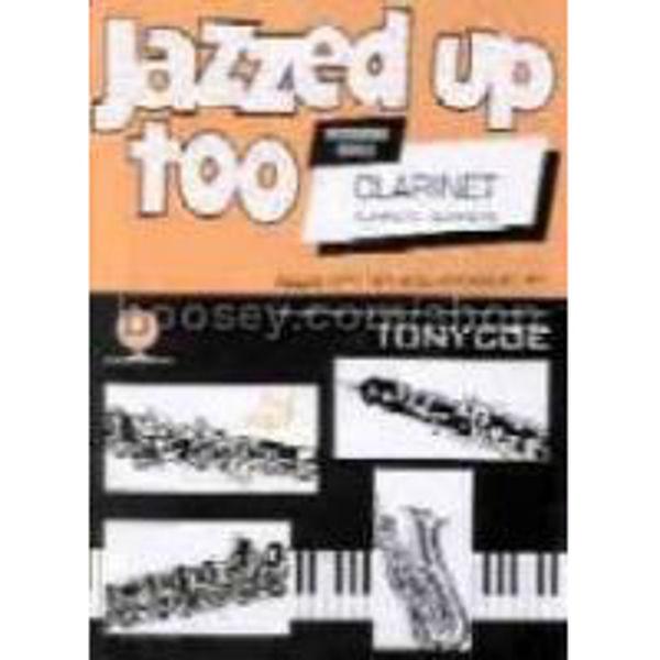 Jazzed Up Too Clarinet - Coe, Clarinet/Piano