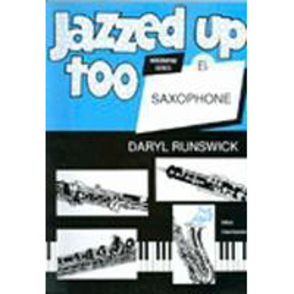 Jazzed Up Too for Altsaksofon, Saksofon/Piano