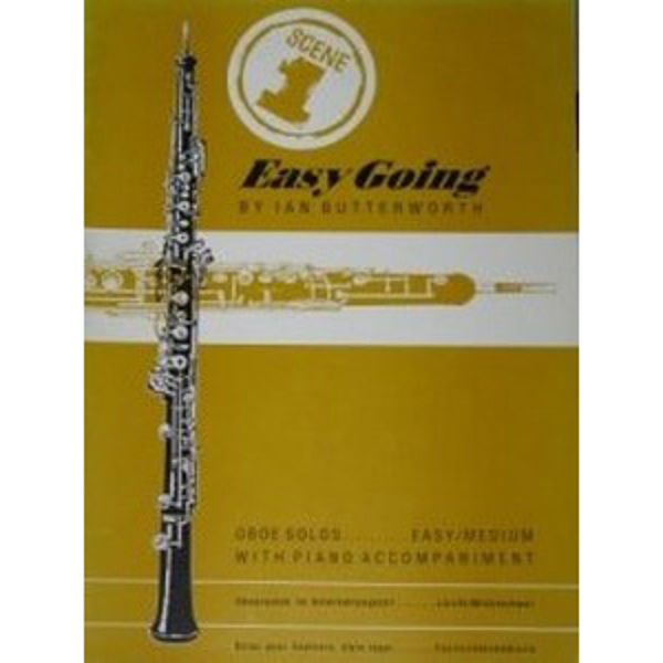 Easy Going for Oboe, Oboe/Piano