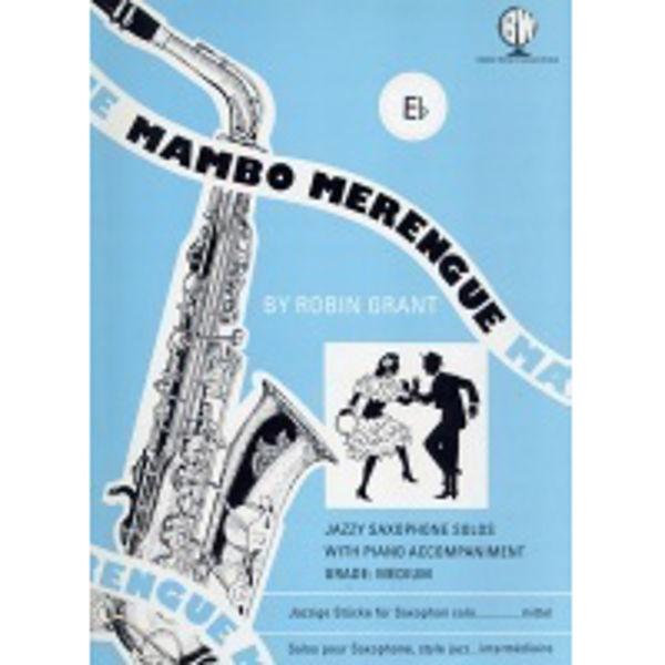 Mambo Merengue for Altsaksofon, Saksofon/Piano
