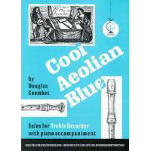 Cool Aeolian Blue for Treble Recorder, Recorder(Treble)/Piano