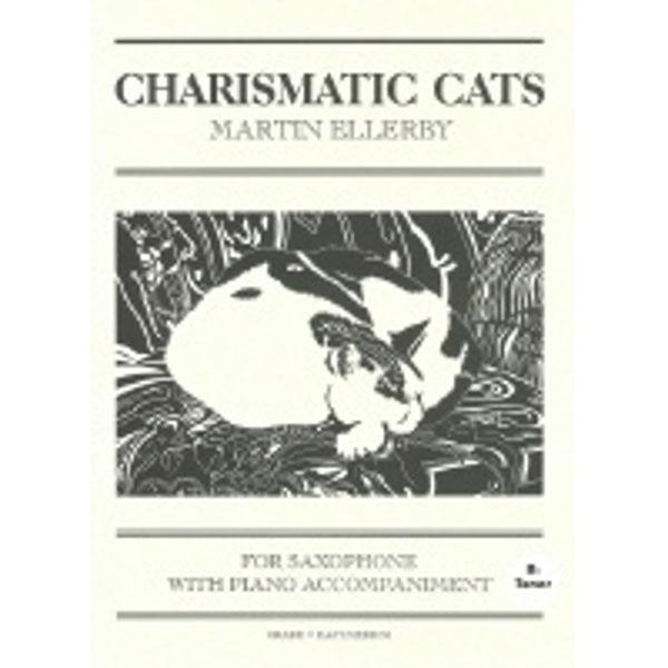 Charismatic Cats for Tenorsaksofon, Saksofon/Piano
