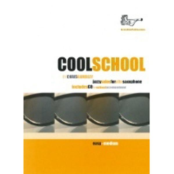 Cool School for Altsaksofon, Saxophone med CD