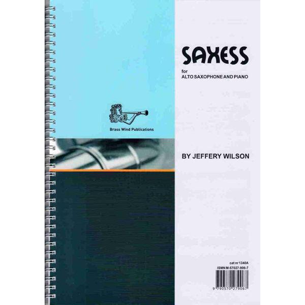 Saxess for Alto Saxophone, Saksofon/Piano