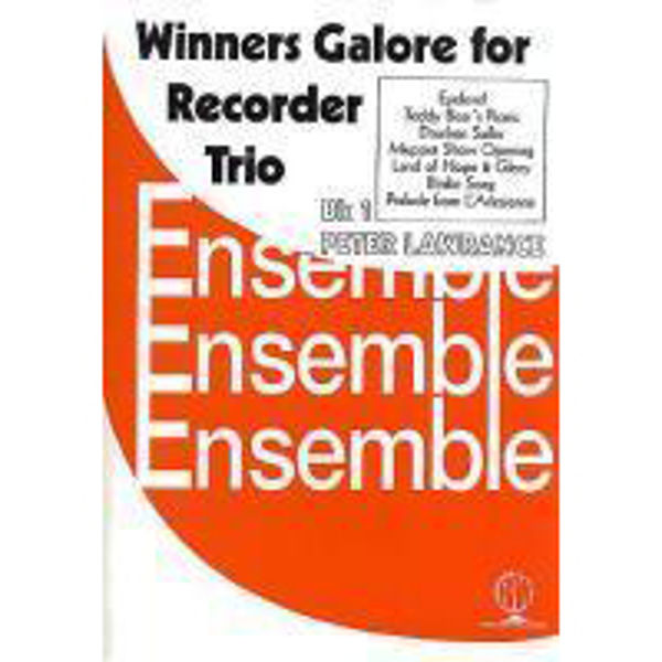 Winners Galore Recorder Trios Book 1, Recorder trios