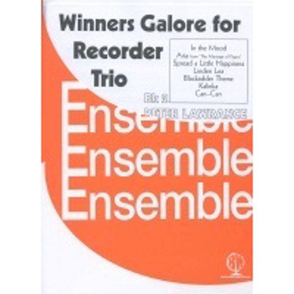 Winners Galore Recorder Trios Book 2, Recorder trios