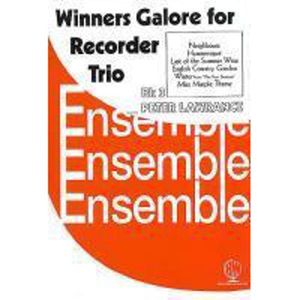 Winners Galore Recorder Trios Book 3, Recorder trios