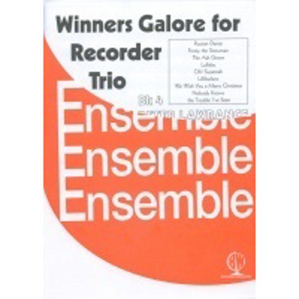 Winners Galore Recorder Trios Book 4, Recorder trios