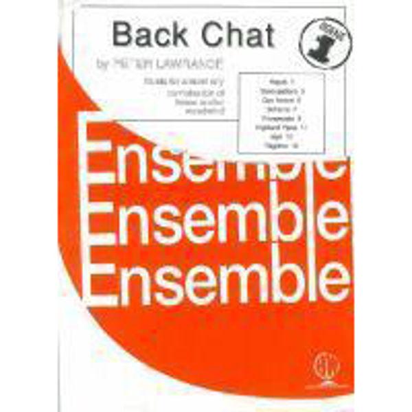 Back Chat Complete set, 2 parts flexible wind