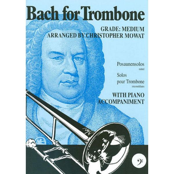 Bach for Trombone BC, Trombone/Piano