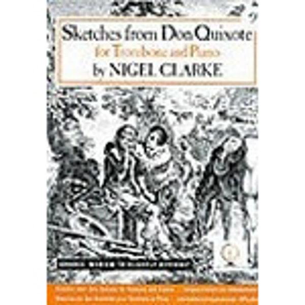 Sketches from Don Quixote Trombone BC, Trombone/Piano