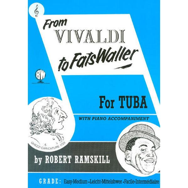 From Vivaldi to Fats Waller TC, Eb Tuba/Piano