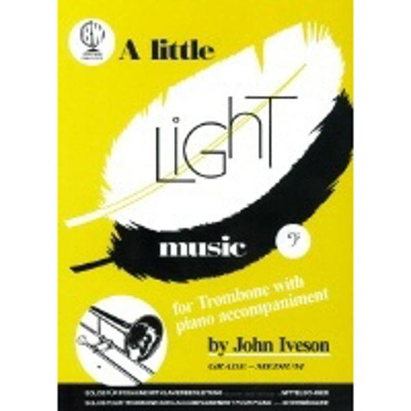 Little Light Music for Trombone BC, Trombone/Piano