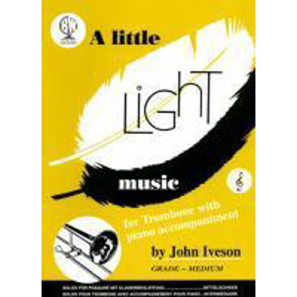 Little Light Music for Trombone TC, Trombone/Piano