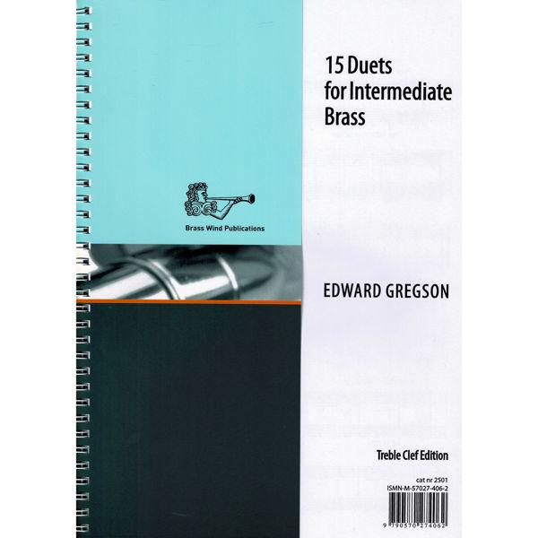 15 Duets for Intermediate Treble Brass/Trumpets