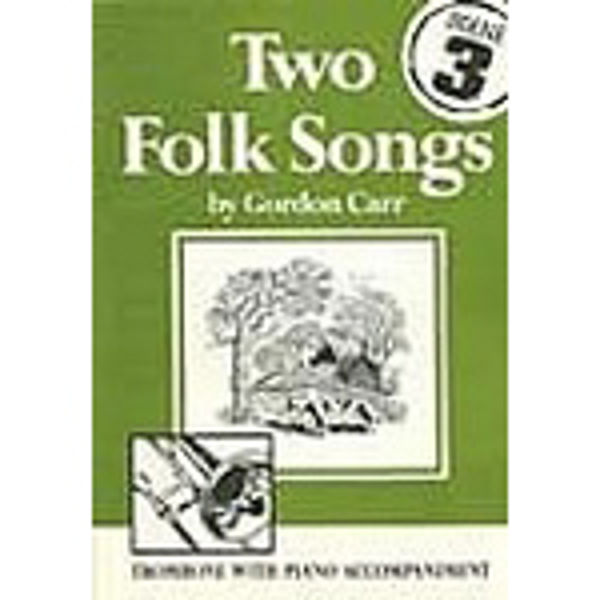 Two Folk Songs for Trombone BC, Trombone/Piano