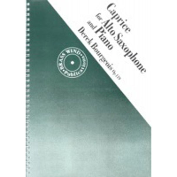 Bourgeois Caprice, Saxophone & Piano