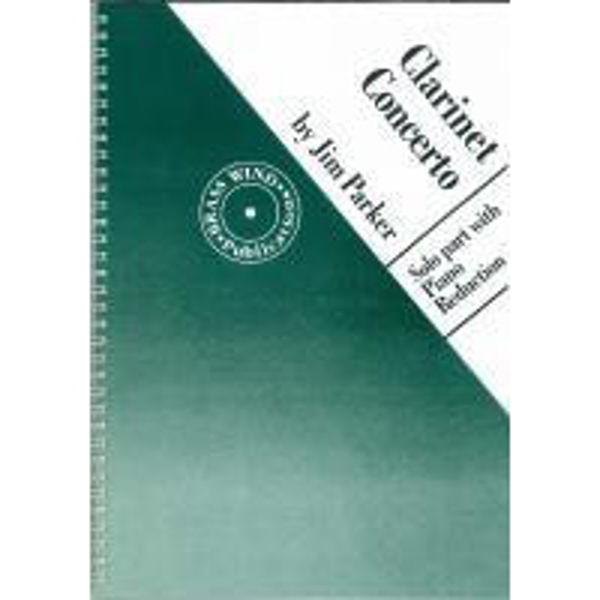Parker Clarinet Concerto, Clarinet & Piano reduction