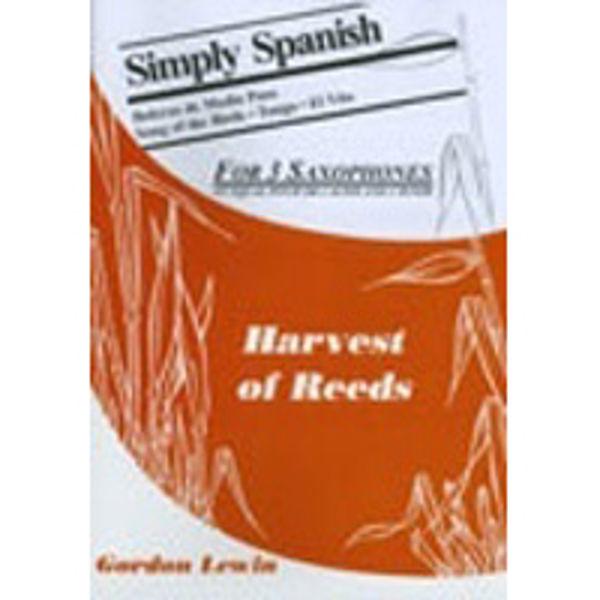 Simply Spanish, Saxophones - 3 parts