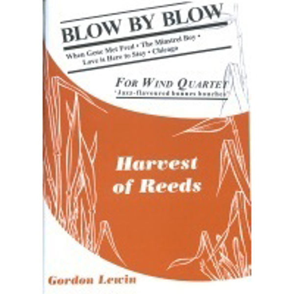 Blow By Blow, 4 parts flexible woodwind