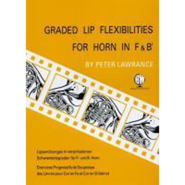 Graded Lip Flexibilities, F Horn solo