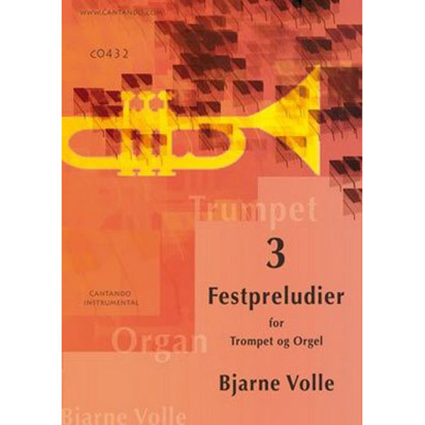 Tre Festpreludier for trompet og orgel